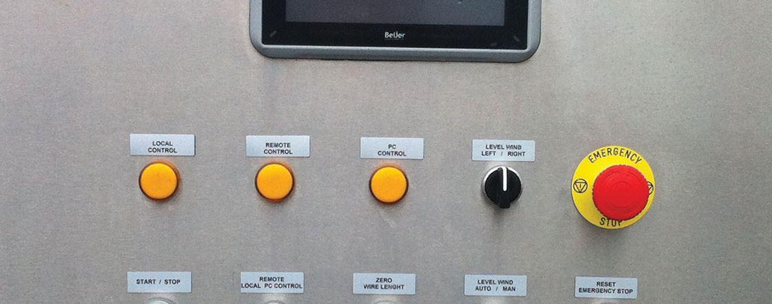 Multi purpose winch, compact, modular, electric driven, side