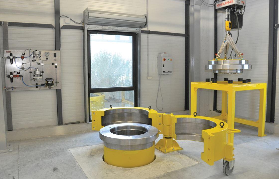 MacArtney Hydrostatic Pressure Vessels