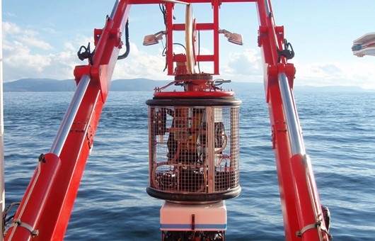 ROV system for supply vessel